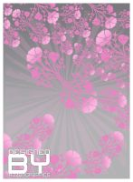 soft pink flowers by razangraphics