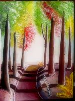 Park Bench by astomious