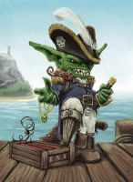 Pirate Goblin Admiral by chillier17