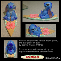 Stitch: Cute and Fluffy by SabrinaFranek