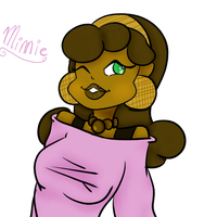 new oc - Minnie by KitsKatBar