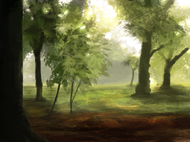 simple forest by llRobinll