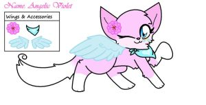 Angelic Violet by Violetkay214