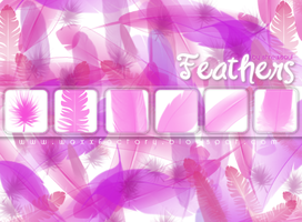 Feather brushes for PS by shrewsoul
