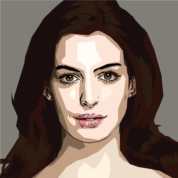 Anne Hathaway by AQuadroGRAphx