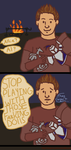 Alistair Plays with Dolls by SnakePrince