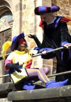 Clopin and Frollo by ChaosTheDawn