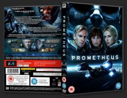 Prometheus (2012) DVD Cover by FlashFormula