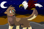 Eagle Flew Out Of The Night by Toby-Wolfkat