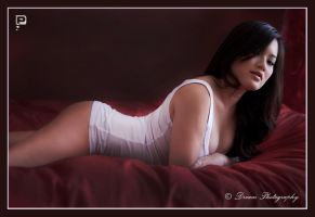Mz Jaime in bed by DreamPhotographySyd