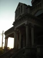 Reformatory at Dusk by Sheikahchica