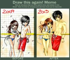 Draw this again Meme - Lollo e Cucca by Clii92