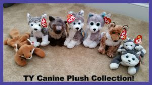 TY Canine Plush Collection! by Vesperwolfy87