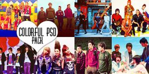 Colorful Psd Pack by omglauren