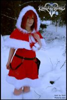 KH: Kairi in Christmas outfit by Doomed-Shou