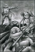 Turtles Group by Loolaa by tmntart