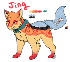 Foxpond: Jing Ref by DevilsRealm