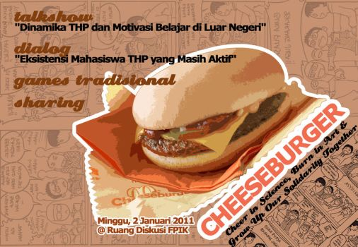 Cheese Burger 2012 by yancupak-graphycii