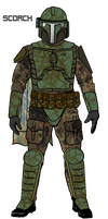 MS-Paint Mandalorian Scorch by JaroKrieg