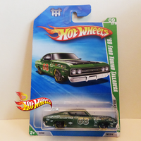 Hot Wheels 2010 '69 FORD TORINO TALLADEGA by idhotwheels
