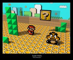 Super Mario - Third Dimension by exs