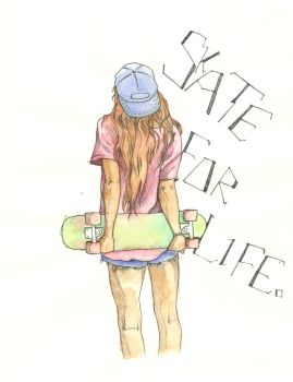 Skate For Life by neobie