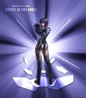 Ghost in the shell: Motoko by Mackner
