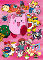 20 Years of Kirby by kukimao