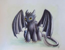 Toothless by Miss-Fantayjah