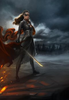 To War: Commander Lexa by PapurrCat