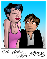 First Date With Manic Pixie Dream Girl by zAidoT