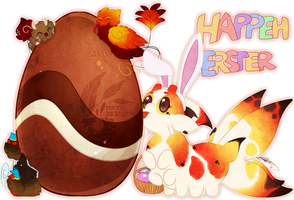 Happeh Ersterrrr by MATicDesignS