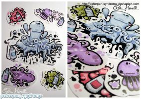 Under the Sea Stickers by PeterPan-Syndrome