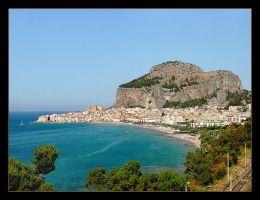 The Rock - Cefalu - Sicilia by skarzynscy