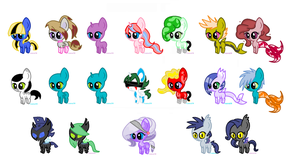 MLP Adopt: Huge Batch (Finally) -CLOSED- by ChopstickGirl241