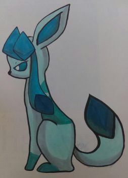 Glaceon markers  by Animals4Eva