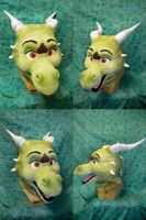 Rico the Dragon Head by temperance