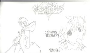 Kingdom Hearts 3d: dream drop distance (Roxas) by Alice-Lidell