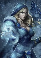 Crystal maiden by Zamberz
