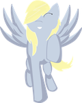 Derpy Hooves - Running by KattenFluga
