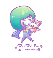 [ Foxmi Style ] DaiDai and Little DaiDaiSo by Foxmi