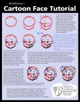 BBR style: Toon Face Tutorial by blackbirdrose