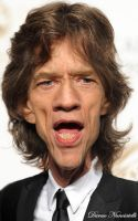 Caricature Mick Jagger by dnunciate