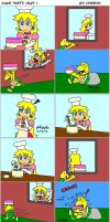 Cake Theft: Part 1 by pheeph