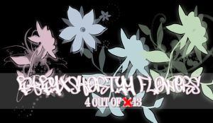 Flowers For GIMP by babyxshortyy