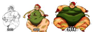 Cammy Over the Years by Yer-Keij-fer-Cash