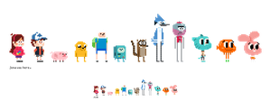 cartoon pixel by junawashere