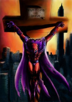 Magneto : Purification had begun by Sandy-reaper