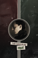 Equal - Loki by citrouille23