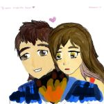 Me and my boyfriend by Nanami-CandyShop